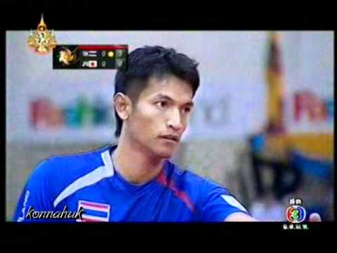 Thailand vs Japan'' Sepak Takraw World SuperSeries 2011 Set 1
