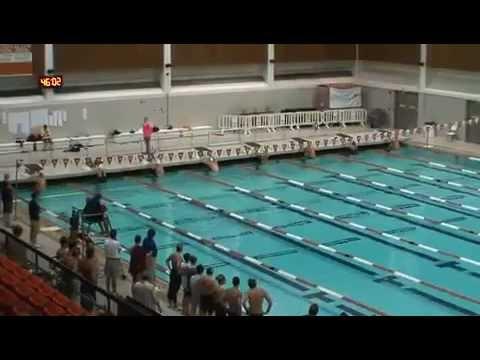 Nezvyčajný plavecký závod voľným štýlom