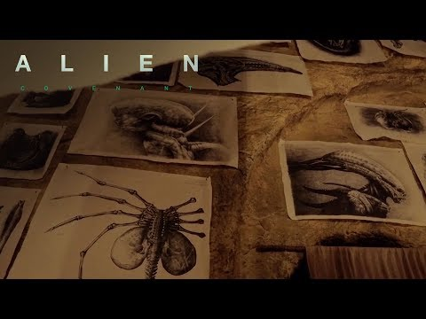 Alien: Covenant | The Secrets of David's Lab: The Ovomorph and the Facehugger  | 20th Century FOX