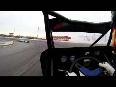 Jake Nelke Ford Focus Test at Ace Speedway March 22, 2014