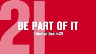 Teaser - #duetwithartist21
