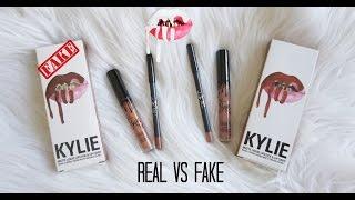 REAL vs FAKE $2: Kylie Cosmetics Lip Kit