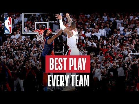 Video: NBA's Best Play Of Every Team | 2018-19 NBA Season