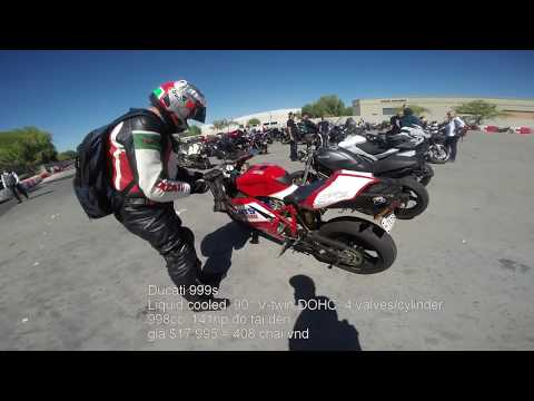 MVlog 45: Siêu phẩm Yamaha V Max siêu nạp, BMW cá mập HP4 & Ducati 999s - Thời lượng: 19 phút.