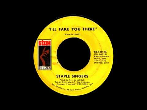 Tekst piosenki Staple Singers - I'll Take You There po polsku