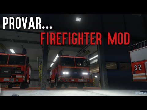 Provar... Firefighter Mod Till GTA5!