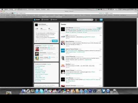 comment prendre le lien d'un tweet