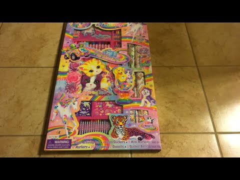 Lisa Frank art and activity