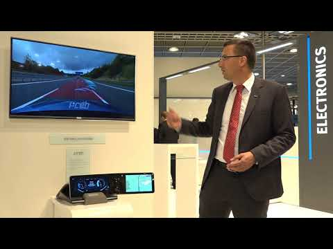 Augmented Reality Head Up, Preh Automotive Connectivity
