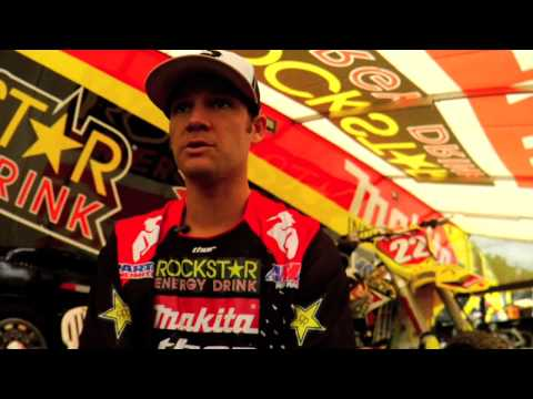 Chad Reed Debuts 2010 Flux Thor Gear