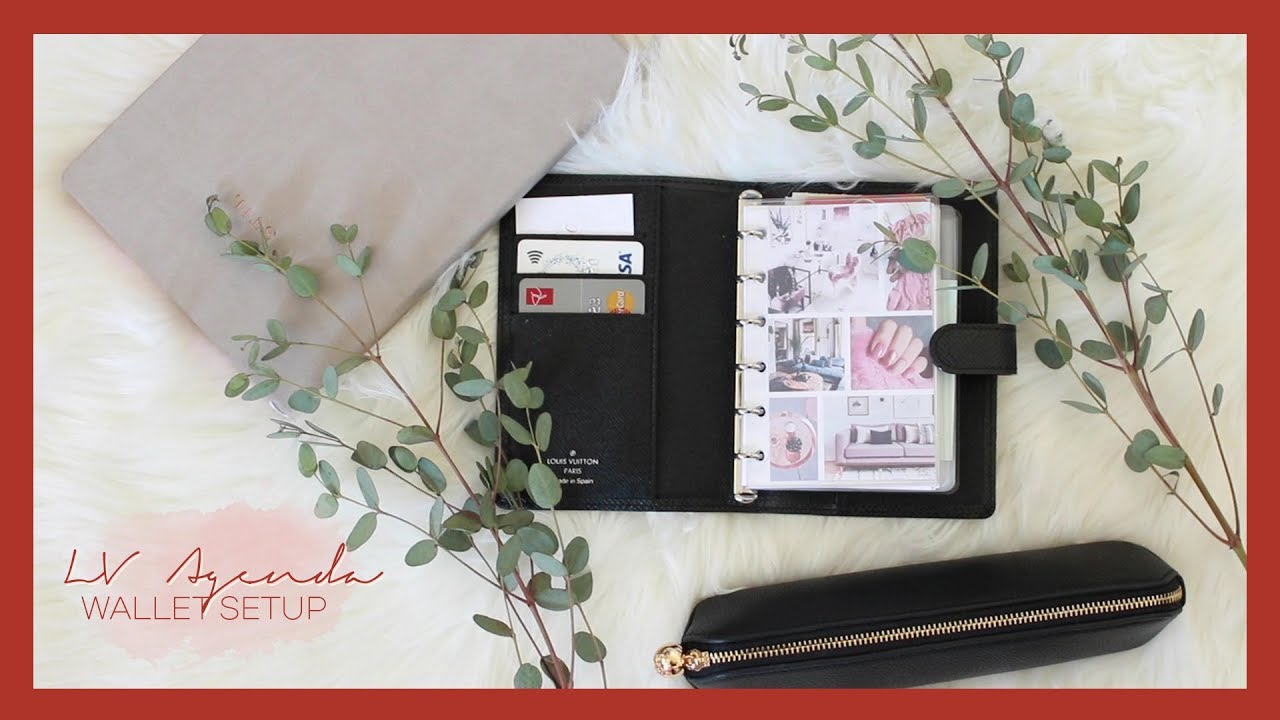 What's In My Louis Vuitton Agenda PM Wallet Setup? ✨
