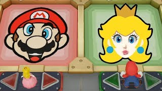 Super Mario Party - Team Peach & Mario vs Team Luigi & Daisy| Cartoons Mee