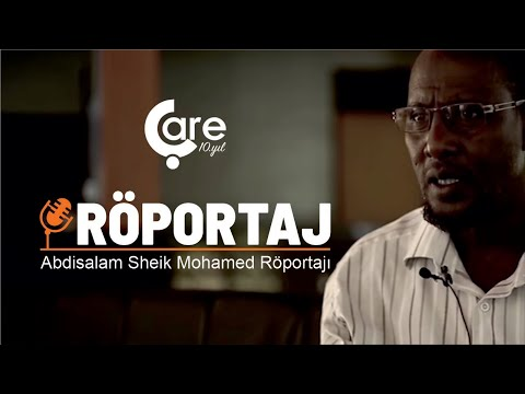 Abdisalam Sheik Mohamed Röportajı