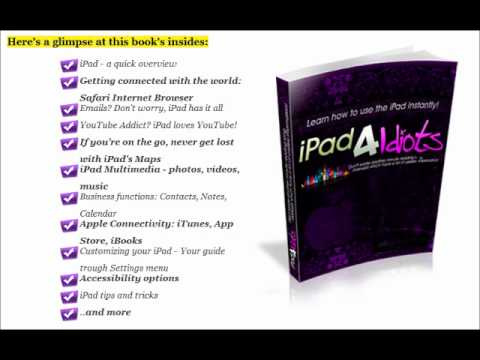 iPad 3 Manual With Video Lessons Review