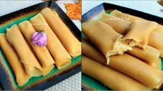 পাটিসাপটা পিঠা    গুঁড়ের ক্ষীরসা পাটিসাপটা    Patishapta Pitha Recipe   Bangladeshi Patishapta Pitha