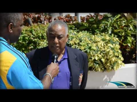 "Bahamas Athletics Interviews NACAC President Neville ""Teddy"" McCook."