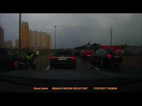 Авария в Санкт Петербурге