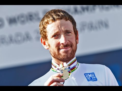Bradley Wiggins post race interview