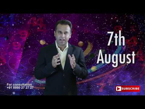Astrological Prediction For 7th August Born | Astrology Planets