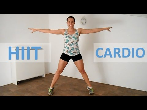 20 Minute HIIT Cardio Workout – Intense HIIT Workout For Fat Loss Without Equipment At Home