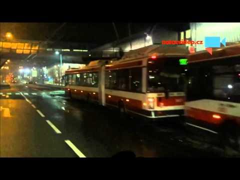 V Brně opět zamrzla drážní vozidla