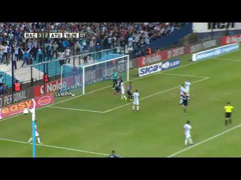 Racing - Atlético Tucumán / Gol de Marco Torsiglieri