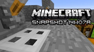 Minecraft: Transforming Villagers, Remote Keys, and More! (Snapshot 14w07a)
