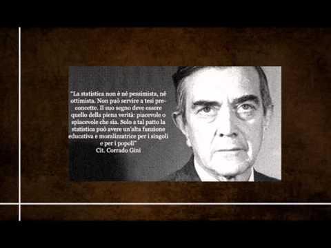 Corrado Gini Biography - I rapporti tra statistica e politica