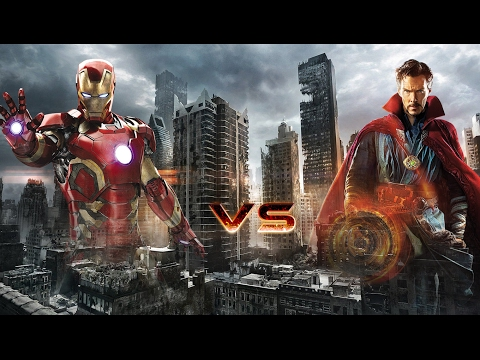 Iron Man Vs Dr Strange (fan Made)