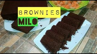 Cara Membuat Brownis Milo Kukus # How to Cooking Milo Brownis # Video