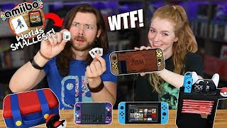 Video My Girlfriend & I Buy WEIRD Nintendo Switch Accessories! MP3, 3GP, MP4, WEBM, AVI, FLV Juni 2019