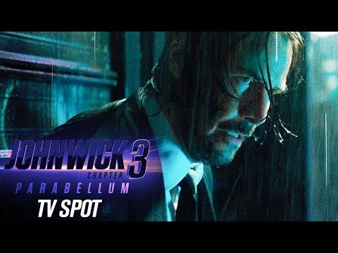 "John Wick: Chapter 3 – Parabellum (2019) Official TV Spot ""Tick Tock"" – Keanu Reeves, Halle Berry"