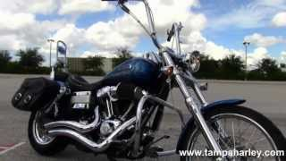 6. 2006 Harley Davidson FXDWG Dyna Wide Glide - Used Motorcycle for Sale