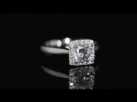 GIA Certified 1.17ct Argyle Light Pink Diamond Ring