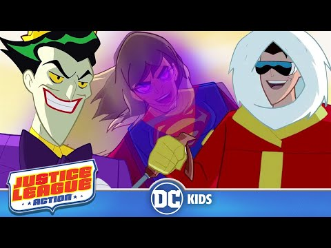 Justice League Action | Exclusive Shorts Episodes 17-22 | DC Kids