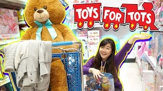 Toys4Tots Toy Hunting - Giving Back to the Community - Christmas Holiday Toys Donation Vlog