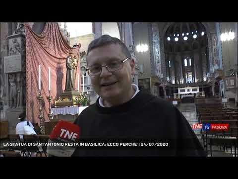 LA STATUA DI SANT'ANTONIO RESTA IN BASILICA: ECCO PERCHE' | 24/07/2020