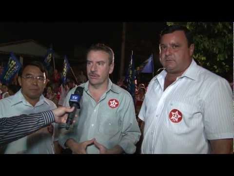 Deputado Estadual Paulo Corrêa Participou De Comício Em Nova Andradina