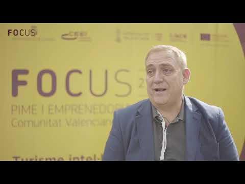 Joaquín Alcázar en Focus Pyme y Emprendimiento Comunitat Valenciana 2018