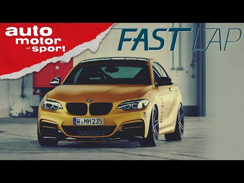 Manhart MH2: BMW 2er als extremes Goldstück - Fast Lap | auto motor und sport