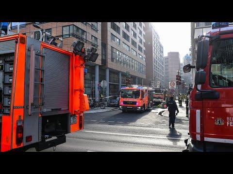Brand in Berliner Lxushotel geht glimpflich aus