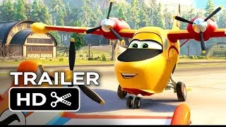 Planes: Fire & Rescue Official Trailer #2 (2014) - Disney Sequel HD