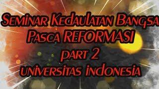Download Video YUSRIL : SEMINAR KEDAULATAN BANGSA PASCA REFORMASI   UI   PART 2 MP3 3GP MP4