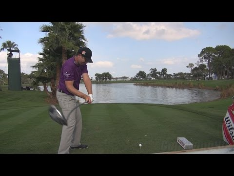 PADRAIG HARRINGTON – 2014 DRIVER GOLF SWING 9TH HOLE PGA NATIONAL REG & SLOW MOTION 1080p HD