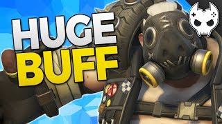 Overwatch Roadhog Buff coming! #overwatch💙 Get COOL rewards and support the channel! https://www.patreon.com/blamethecontroller🔹 Check out more TOP 5, Tips, and Guides below 🔹Better Roadhog Buff Idea: https://www.youtube.com/watch?v=kbKI_8NBHXcHey! Hit that Like button and leave a comment!● Subscribe - http://bit.ly/SubscribeBTC ● TwitchTV - http://www.twitch.tv/blamethecontroller● Twitter - http://twitter.com/BlameTC● Instagram - http://instagram.com/blamethecontroller● Facebook - http://www.facebook.com/BlameTheController● Discord Server - https://discord.gg/blamethecontroller♦♦  T-SHIRT  SHOP ♦♦http://blamethecontroller.spreadshirt.com/♦ Send me FanmailBTC  P.O. Box 97Spring, TX 77383💙 Get COOL rewards and support the channel! https://www.patreon.com/blamethecontroller🔹 Check out more TOP 5, Tips, and Guides below 🔹🔸 Doomfist Ability Breakdown https://www.youtube.com/watch?v=dR9L4nmWoQc🔸 Doomfist Mythbusting https://www.youtube.com/watch?v=CtrasJIHMY4🔸 Doomfist All Skins https://www.youtube.com/watch?v=G3ANkZUyHOg🔸 Doomfist Gameplay Part 1 https://www.youtube.com/watch?v=2B4karTWAL0🔸 Doomfist Gameplay Part 2 https://www.youtube.com/watch?v=rhyT6ZKSygY🔸 ORISA TOP 10 Tips: https://www.youtube.com/watch?v=Ch_ZbAqjca8🔸 TOP 5 TIPS and Tricks:  https://www.youtube.com/watch?v=3dEIQ6qrH1g🔸 TOP 5 TIPS for TEAMWORK: https://www.youtube.com/watch?v=0pseL1QkMGs🔸 TOP 5 TIPS for HERO PICKS:  https://www.youtube.com/watch?v=RFTzCy6u11M🔸 TOP 5 TIPS for IMPROVING AIM: https://www.youtube.com/watch?v=71fehVACdyc 🔸 TOP 5 TIPS FOR CUSTOMIZATION: https://www.youtube.com/watch?v=ps8bZ_FjHBM🔸 TOP 5 Best Teams for 3v3 https://www.youtube.com/watch?v=2cYk-Gdeabc🔸 Sombra Top 10 Tips: https://www.youtube.com/watch?v=BIW-gudOn18🔸 Overwatch Mythbusters - Sombra Teleporting: https://www.youtube.com/watch?v=JWHmukikcSQ🔸 Overwatch Mythbusters - Sombra Invisibility: https://www.youtube.com/watch?v=hHDYCIb70fQ🔸 Overwatch Mythbusters - Sombra Hack and EMP: https://www.youtube.com/watch?v=b_y8X4OR