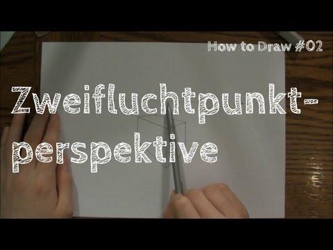 Zweifluchtpunktperspektive – How to Draw #02