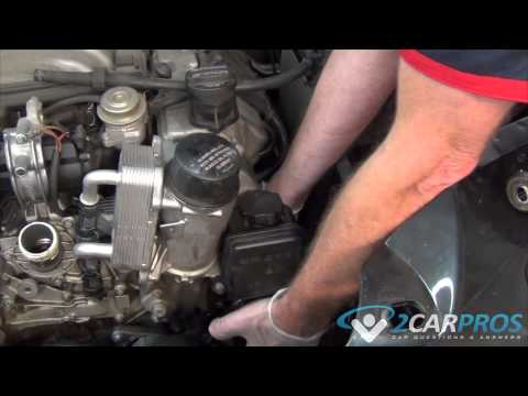 Power Steering Pump Replacement Mercedes Benz ML500 1998-2005