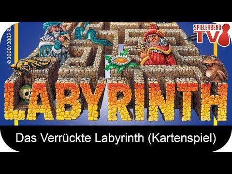 Let's Play • Das Verrückte Labyrinth (Kartenspiel) • Anleitung + Spiel