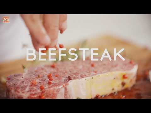 How To Make Standard Beefsteak 5 Star Restaurant | Learn How To Cook Delicious Career Asia and Europe