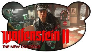 Wolfenstein 2 The New Colossus Preview #02 - Die Milch machts! (Let's Play Preview Gameplay Deutsch)